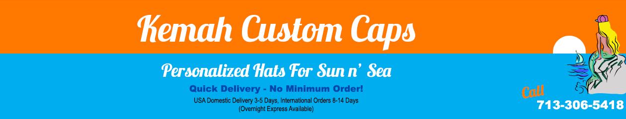 Kemah Custom Caps