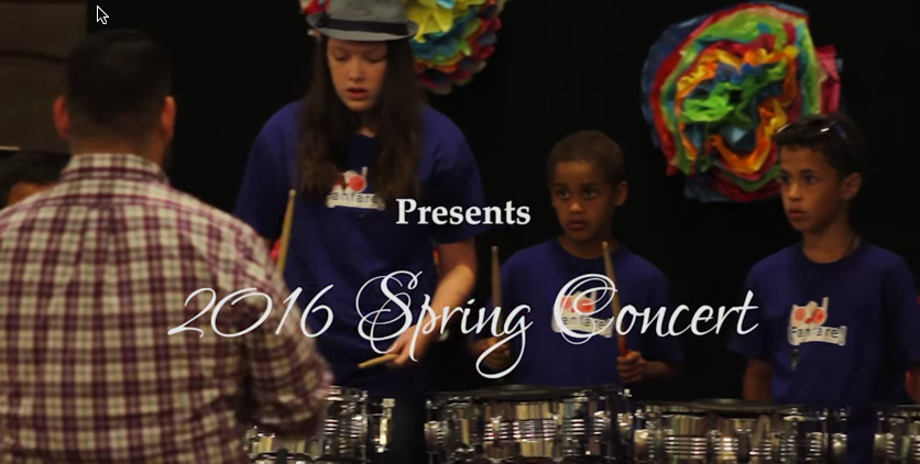 Fanfare Lutheran Music Academy 2016 Spring Concert