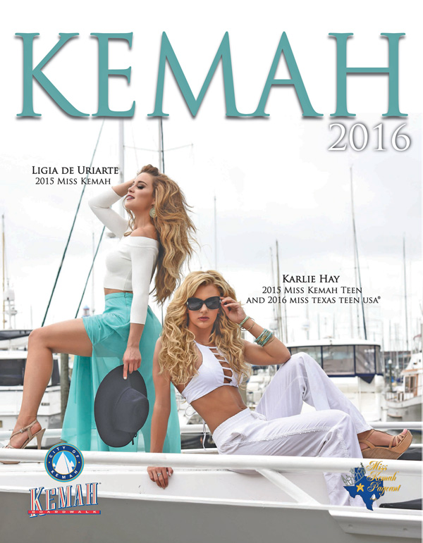2016 Miss Kemah Pageant Program Book
