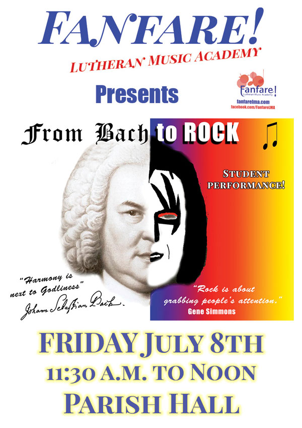 Poster For: From Bach To Rock