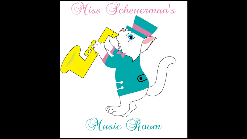 New Logo Designed For Miss Scheuerman's Music Room