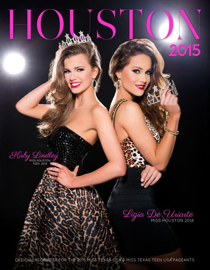 2015 Miss Houston Pageant Program Book