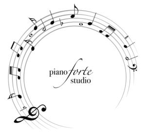Logo by Sari for Laura Cotto's Piano Studio in Galveston