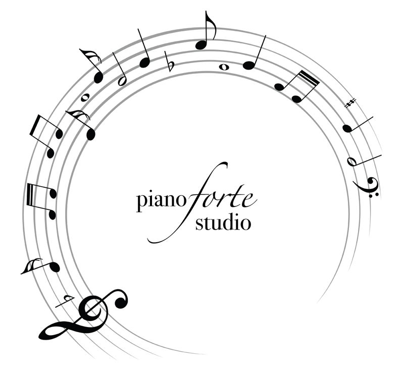Logo by Sari for Laura Cotto's Piano Studio in Galveston